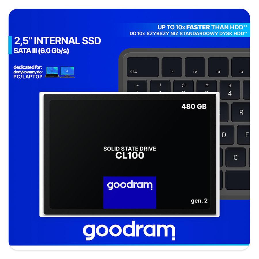 GoodRAM CL100 gen.2: скорость за недорого