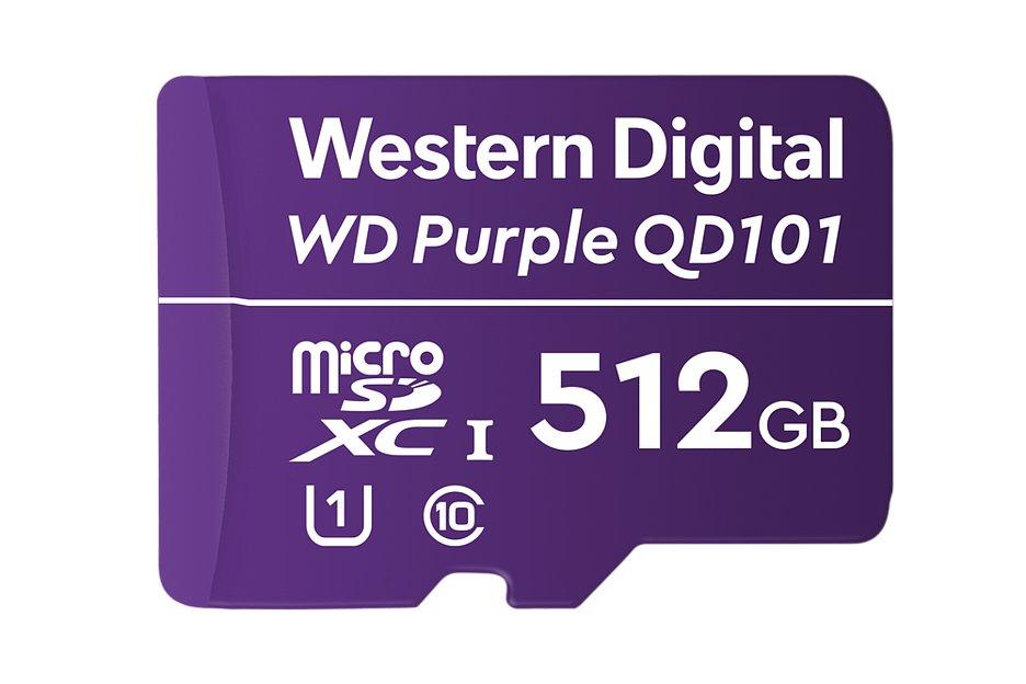 Western Digital выпустила карту памяти и жесткий диск для видеонаблюдения