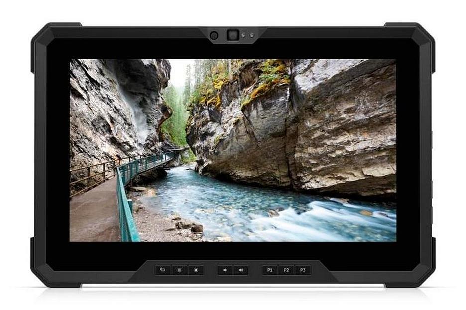 Dell выпустила 12-дюймовый защищенный планшет