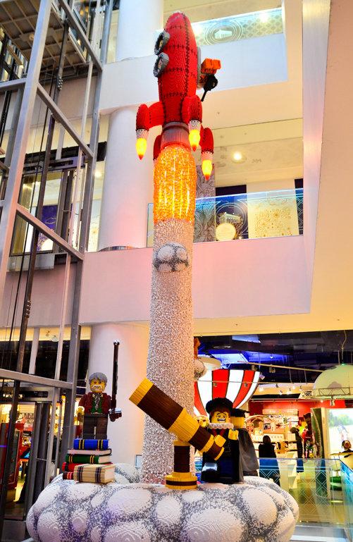 Ракета из лего
