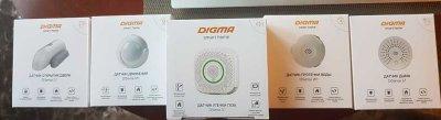 Беспроводные датчики Digma: от дверей до окон