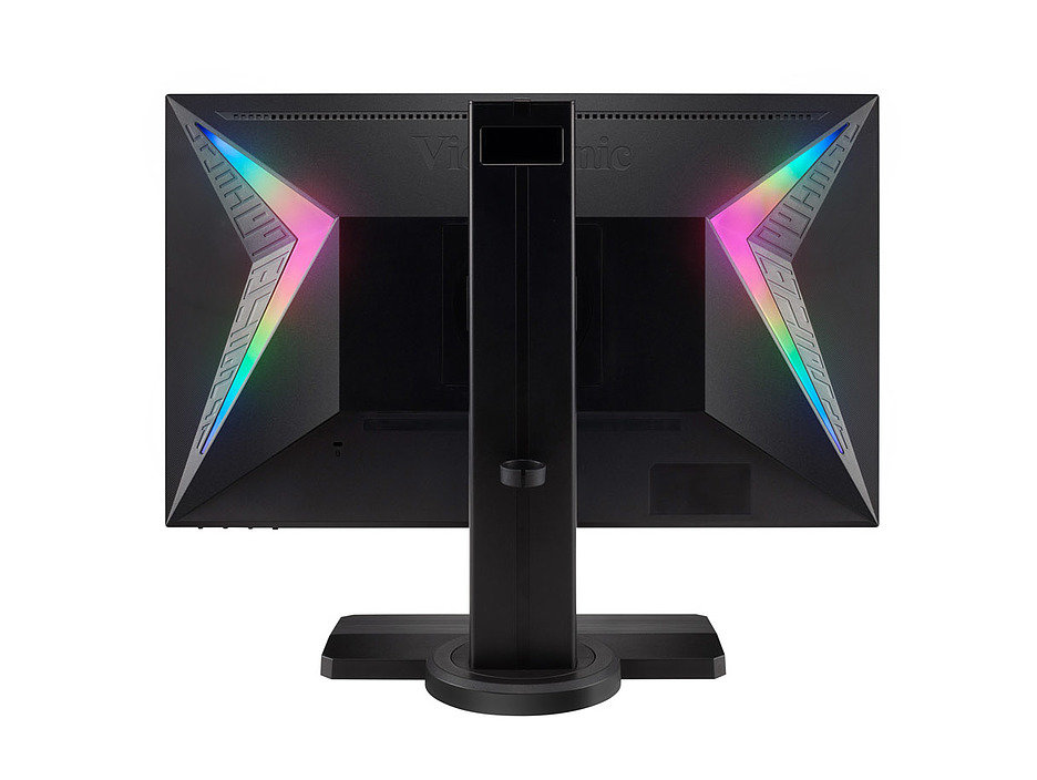 ViewSonic XG240R: игровой монитор с цветомузыкой