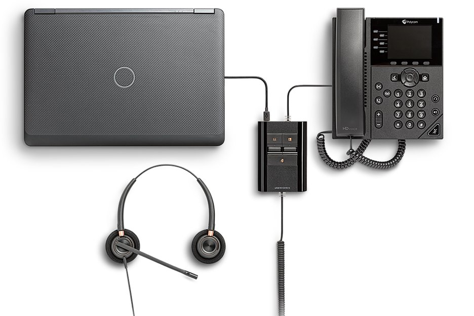 Poly представила гарнитуру и аудиопроцессор
