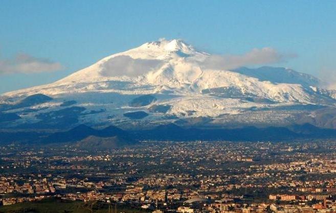 Этна на Сицилии