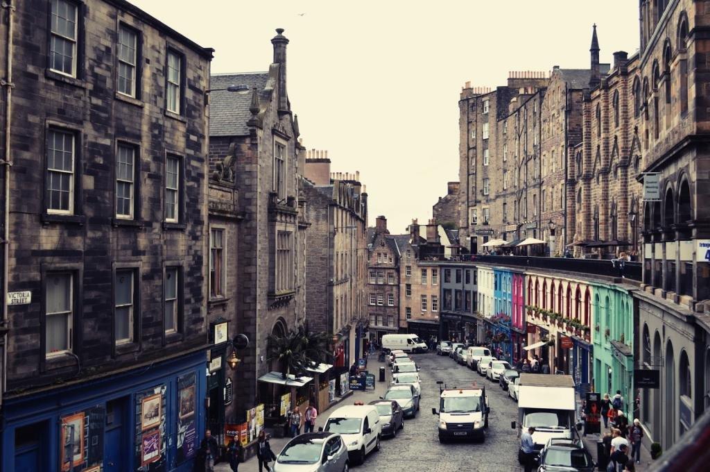 Эдинбург в августе