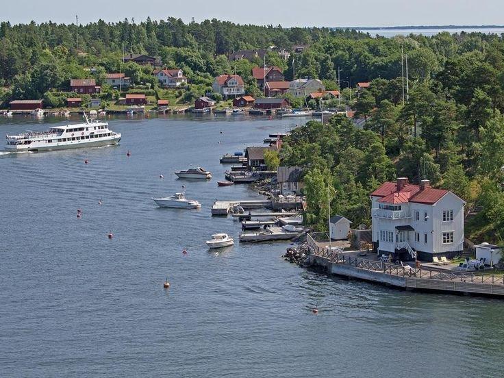 Окрестности Стокгольма в августе
