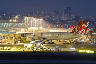 Самые популярные аэропорты Турции