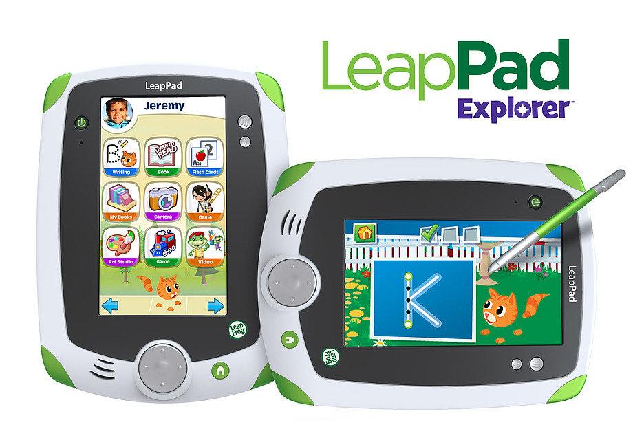 Выпущен детский планшет LeapPad Explorer