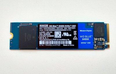 WD Blue SN550: NVMe в массы!