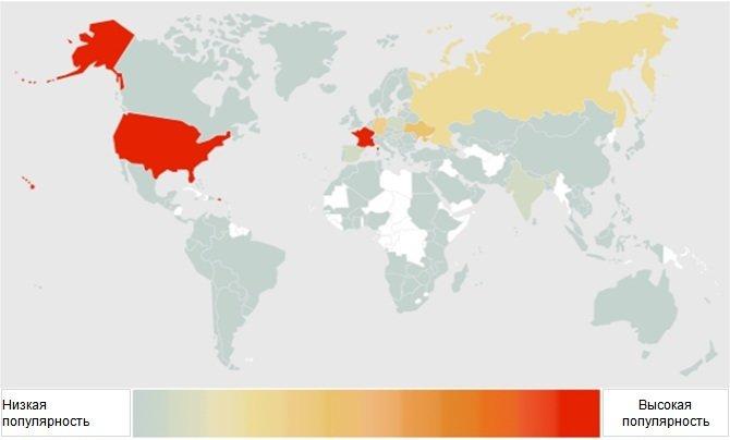 Вредоносные сайты выбирают США
