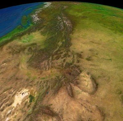 Где находятся горы Кордильеры на карте мира?