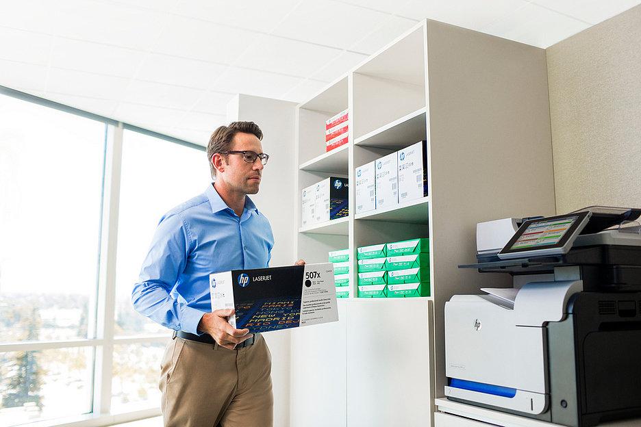Аутсорсинг печати HP MPS как антикризисная мера