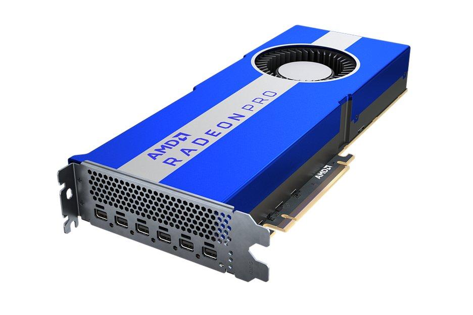На рынок выходит видеокарта AMD Radeon Pro VII