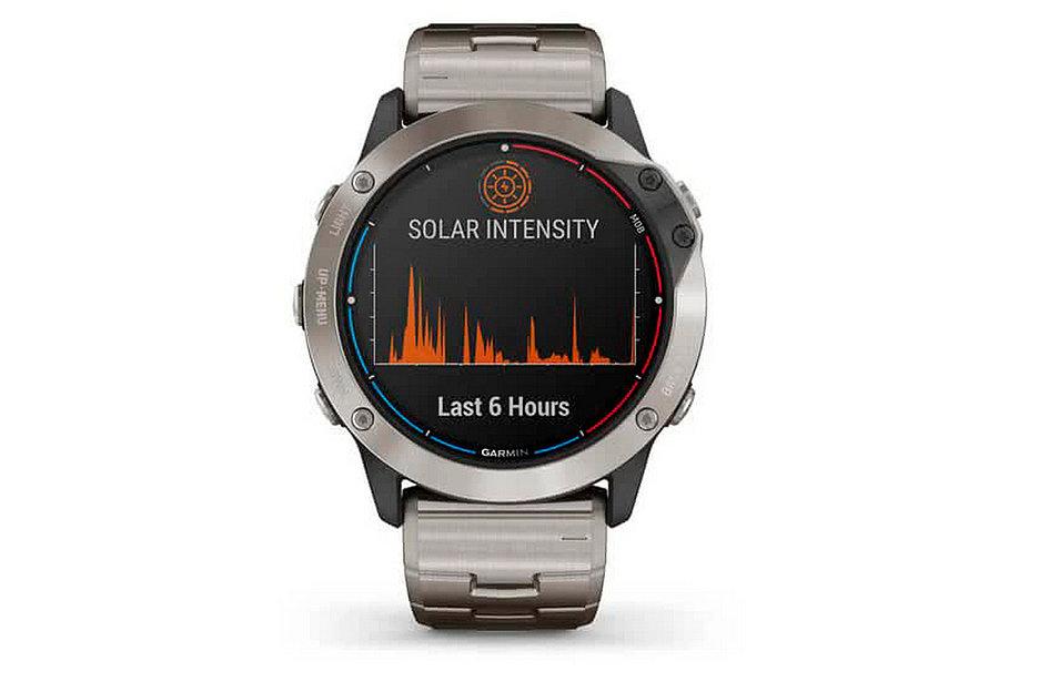 Garmin представила часы QUATIX 6X SOLAR