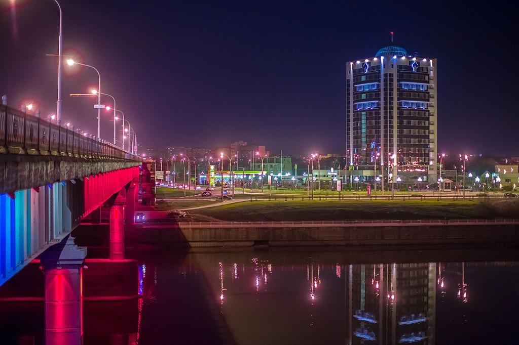 Краснодар ночью
