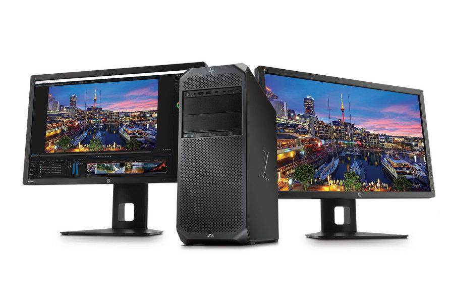 HP представила новую рабочую станцию Z6 G4