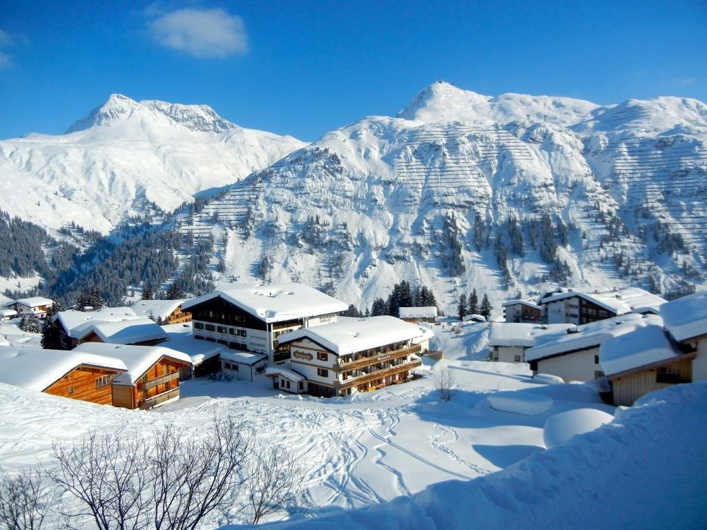Горнолыжный курорт в Австрии.