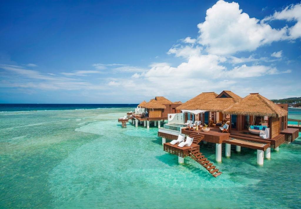 Красивый отель на Ямайке.