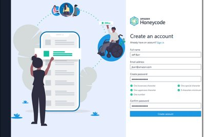 Amazon представила сервис для создания приложений без написания кода
