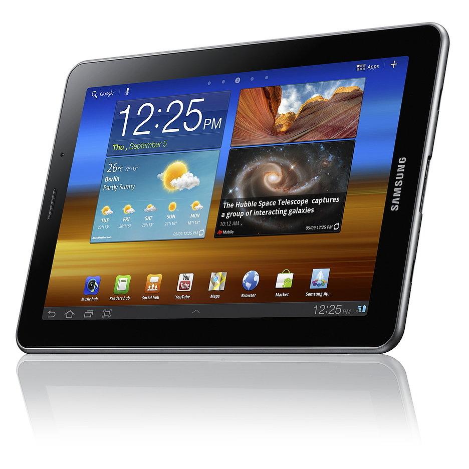 Samsung представил планшет Galaxy Tab 7.7