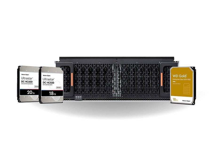 Western Digital выпустила HHD-накопители емкостью 16 и 18 Тбайт