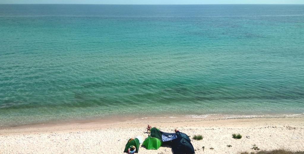 пляжи крыма с белым песком