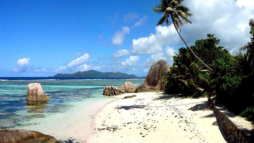 лучший пляж с белым песком