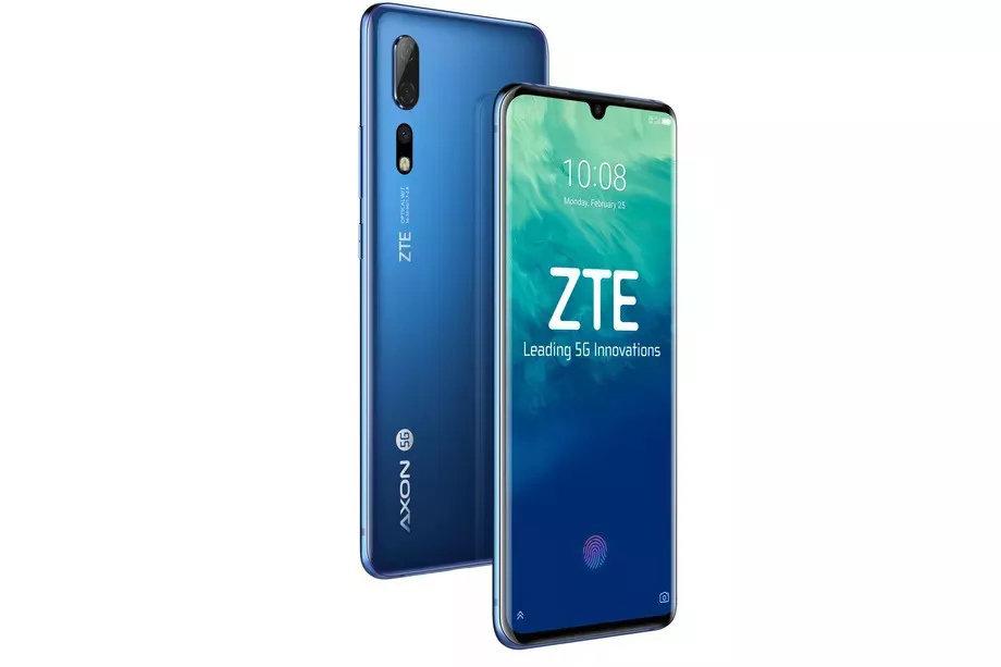 ZTE выпускает 5G смартфон