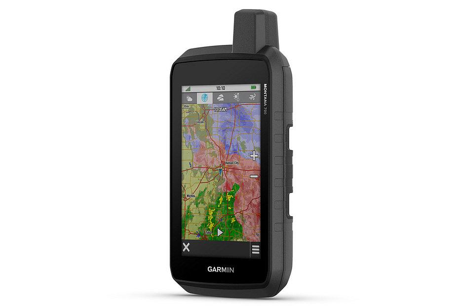 Garmin выпустила серию GPS-навигаторов Montana 700