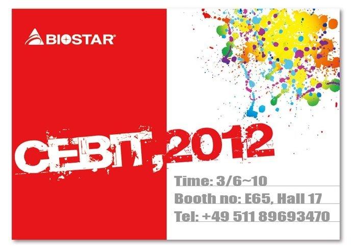 Новинки Biostar к CeBIT '2012