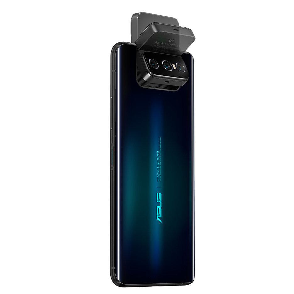 ASUS представил смартфоны ZenFone 7-й серии c поворотным модулем