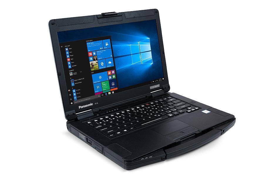 Panasonic выпустил новый ноутбук-танк