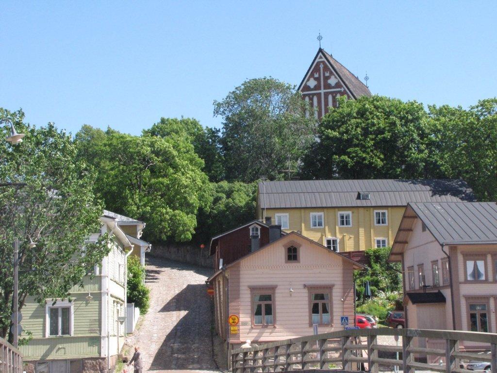 Старая часть города Порвоо