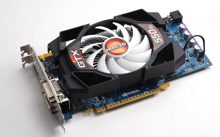 Многодисплейное решение Inno3D GeForce GTX550Ti Vision³