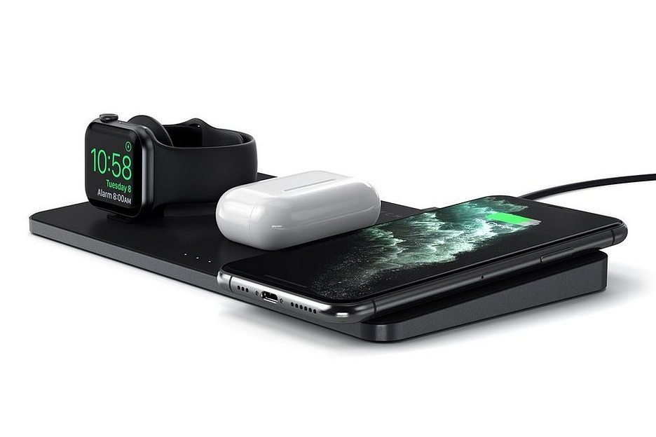 В Россию пришла докстанция для одновременной зарядки телефона, часов и наушников