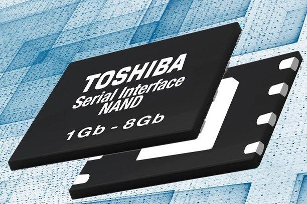 Toshiba Memory выпустила новое поколение Serial Interface NAND