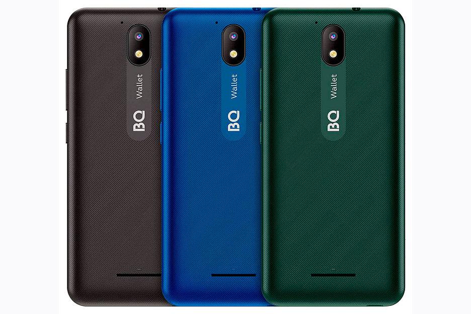 BQ представила бюджетный смартфон-кошелек