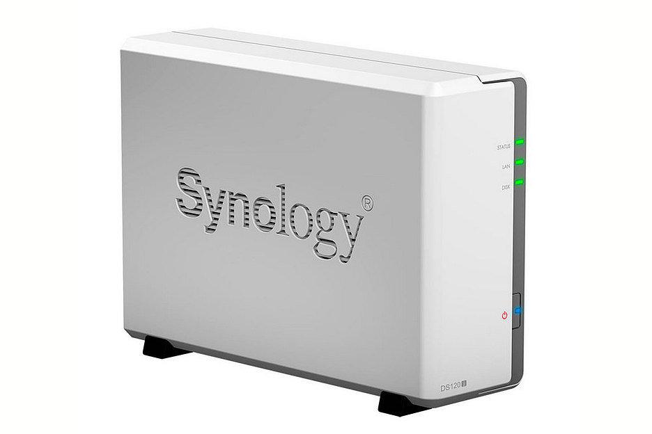 Synology представила компактный NAS DS120j