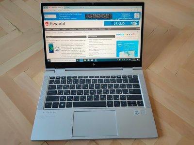 HP EliteBook x360 830 G7: работа в радость