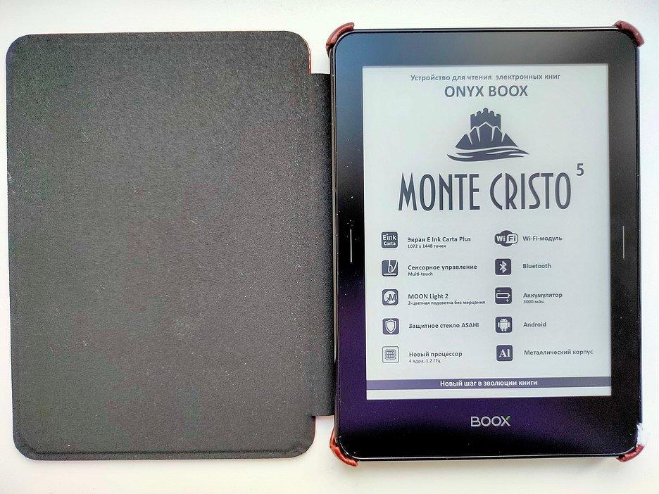 ONYX BOOX Monte Cristo 5: лучше, чем бумага