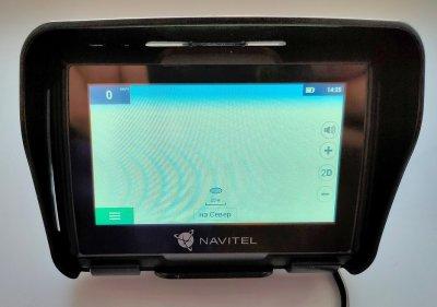 NAVITEL G550 MOTO: не смартфоном единым