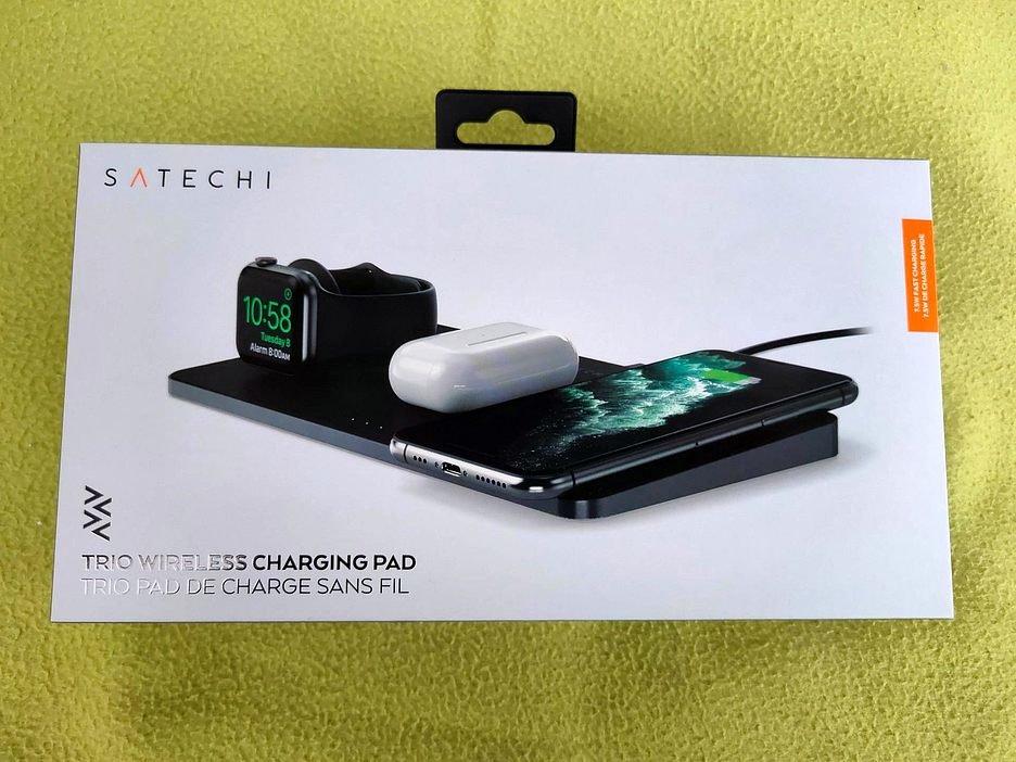 Satechi Trio Wireless Charging Pad: семейная беспроводная зарядка для Apple