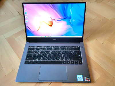 Huawei MateBook D14: серый кардинал элегантности