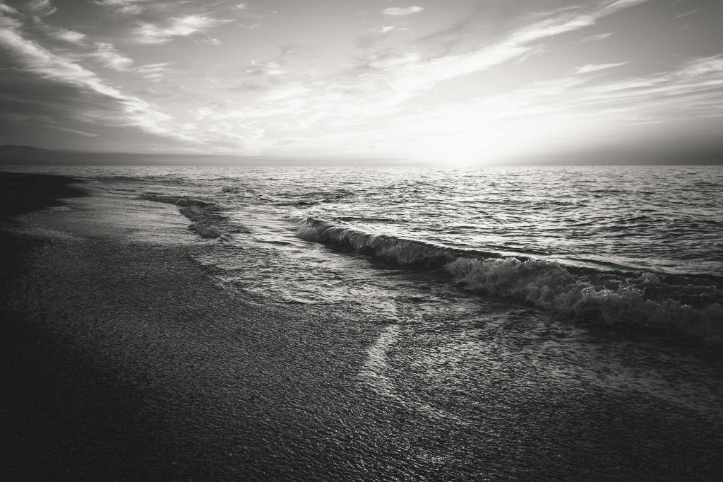 Соленая вода моря