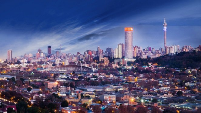 В какой стране Йоханнесбург