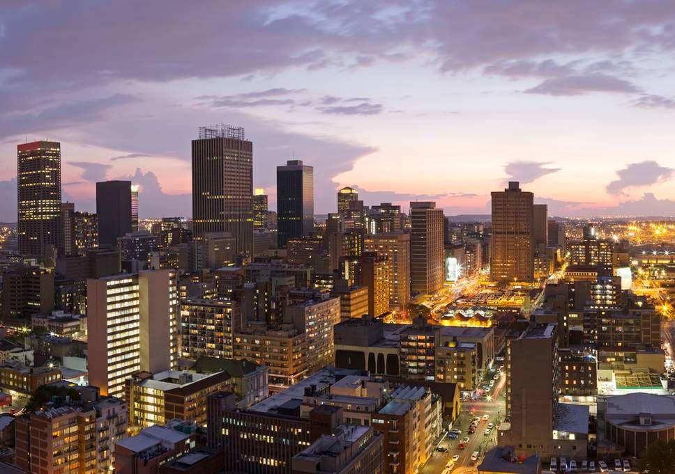 Где это Йоханнесбург