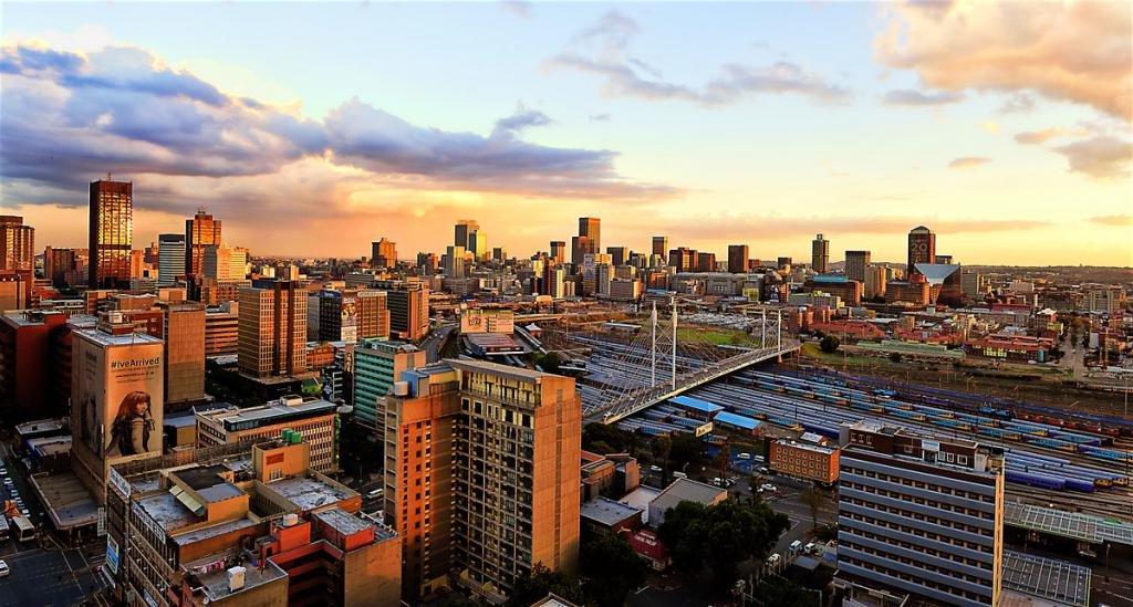 Как добраться в Йоханнесбург