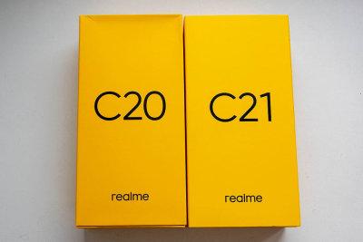 realme C20 и C21: короли бюджета