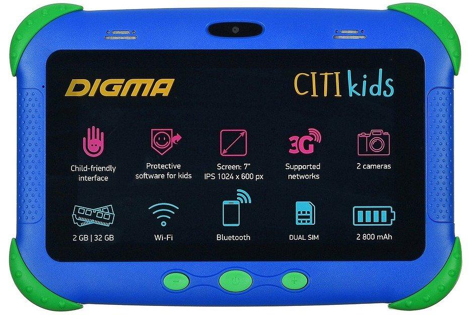 Digma CITI Optima Kids: делу время