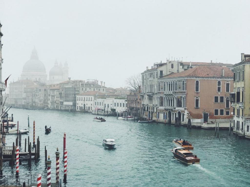 Зима Венеция